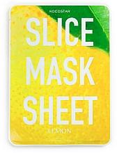Düfte, Parfümerie und Kosmetik Tonisierende Tuchmaske mit Zitronenextrakt - Kocostar Slice Mask Sheet Lemon