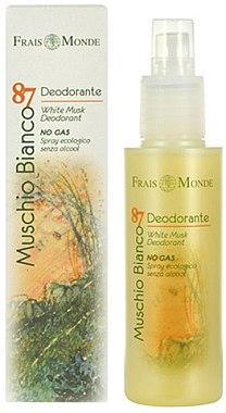 Frais Monde Muschio Bianco 87 White Musk Deodorant - Deospray mit weißem Moschus — Bild N1