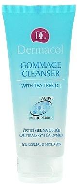 Reinigendes Gesichtspeeling mit Teebaumöl - Dermacol Face Care Gommage Cleanser — Bild N1