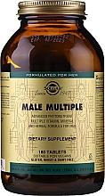 Düfte, Parfümerie und Kosmetik Nahrungsergänzungsmittel Multivitamine für Männer - Solgar Male Multiple