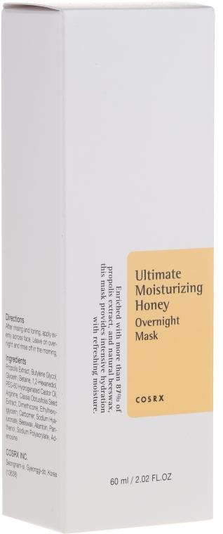 Feuchtigkeitsspendende Nachtmaske für das Gesicht mit Honig - Cosrx Ultimate Moisturizing Honey Onvernight Mask — Bild N3