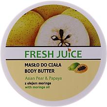 Düfte, Parfümerie und Kosmetik Creme-Butter für die Körper mit Birne und Papaya - Fresh Juice Asian Pear & Papaya