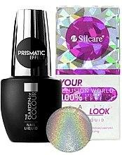 Düfte, Parfümerie und Kosmetik Nagelgel mit holographischem Effekt - Silcare Nail Liquid Prismatic Effect