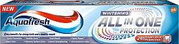 Düfte, Parfümerie und Kosmetik Aufhellende Zahnpasta All In One Protection Whitening - Aquafresh All-in-One Whitening
