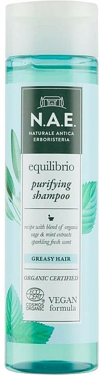 Shampoo für fettiges Haar - N.A.E. Equilibrio Purifying Shampoo — Bild N1