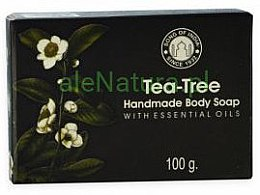 Düfte, Parfümerie und Kosmetik Handgemachte Körperseife Teebaum - Song of India Soap Tea Tree
