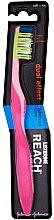 Düfte, Parfümerie und Kosmetik Zahnbürste weich Dual Effect rosa - Listerine Reach Dual Effect Soft