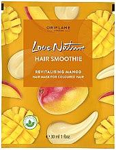 Düfte, Parfümerie und Kosmetik Revitalisierende Haarmaske mit Mango für coloriertes Haar - Oriflame Love Nature Hair Smoothie