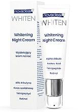 Düfte, Parfümerie und Kosmetik Aufhellende Nachtcreme mit Retinol, Azelainsäure und Tetrapeptiden - Novaclear Whiten Whitening Night Cream