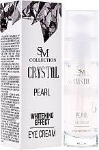 Düfte, Parfümerie und Kosmetik Augenkonturcreme gegen Schwellungen und dunkle Augenringe mit aufhellendem Effekt - Hristina Cosmetics SM Crystal Pearl Eye Cream