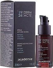 Düfte, Parfümerie und Kosmetik Intensives Anti-Aging Gesichtsserum - Academie Serum Anti-Age Global Peptides-Calcium Vitamin C