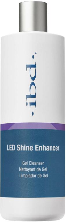 2in1 Gel-Reiniger & Nagelentfeuchter mit Glanz-Effekt - IBD LED Shine Enhancer Gel Cleanser