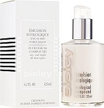 Gesichtsemulsion für Tag und Nacht für alle Hauttypen - Sisley Emulsion Ecologique Ecological Compound — Bild N4