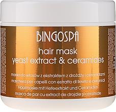 Düfte, Parfümerie und Kosmetik Haarmaske mit Hefeextrakt - BingoSpa Hair Mask From Yeast Extract
