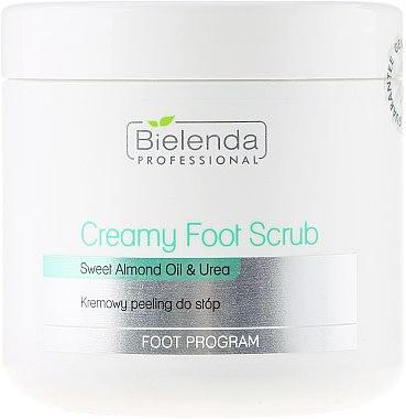 Cremiges Fußpeeling mit Mandelöl und Harnstoff - Bielenda Professional Foot Paradise Creamy Foot Scrub With Almond Oil And Urea — Bild N1