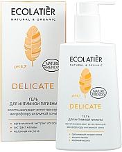 Düfte, Parfümerie und Kosmetik Gel für die Intimhygene mit mit Bio Lotusextrakt - Ecolatier Delicate