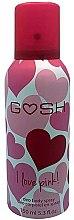 Düfte, Parfümerie und Kosmetik Deospray - Gosh I Love Pink Deo Body Spray