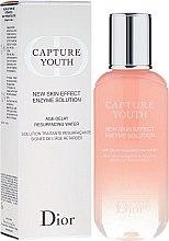 Düfte, Parfümerie und Kosmetik Gesichtslotion zur Entfernung von abgestorbenen Hautzellen - Dior Capture Youth New Skin Effect Enzyme Solution