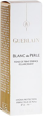 Foundation - Guerlain Blanc De Perle Essence Infused Brightening Foundation SPF 25 — Bild N2