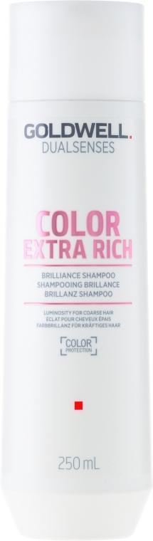 Farbbrillanz Shampoo für coloriertes, kräftiges bis widerspenstiges Haar - Goldwell Dualsenses Color Extra Rich Brilliance Shampoo