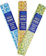 Düfte, Parfümerie und Kosmetik Polier-Nagelfeile 18 cm gelb - Sally Hansen La Cross High Shine 5 Second Shine