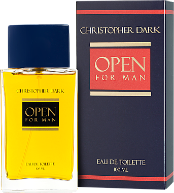 Christopher Dark Open Men - Eau de Toilette — Bild N1