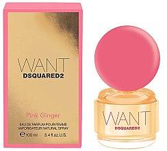 Düfte, Parfümerie und Kosmetik DSQUARED2 Want Pink Ginger - Eau de Parfum