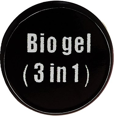 3in1 Transparentes Bio Nagelgel - F.o.x Bio Gel 3 in 1 Base Top Builder — Bild N3