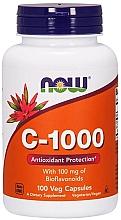 Düfte, Parfümerie und Kosmetik Nahrungsergänzungsmittel Vitamin C 1000 mg mit Bioflavonoiden - Now Foods Vitamin C 1000Iu