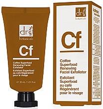 Düfte, Parfümerie und Kosmetik Regenerierendes Gesichtspeeling mit Kaffee - Dr. Botanicals Coffee Superfood Renewing Facial Exfoliator