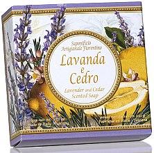 Naturseife Lavendel und Zeder - Saponificio Artigianale Fiorentino Capri Lavender & Cedar — Bild N1