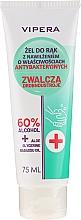 Düfte, Parfümerie und Kosmetik Feuchtigkeitsspendendes antibakterielles Handreinigungsgel - Vipera Antibacterial Hand Gel