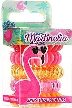 Düfte, Parfümerie und Kosmetik Haargummis Flamingo 5 St. - Martinelia