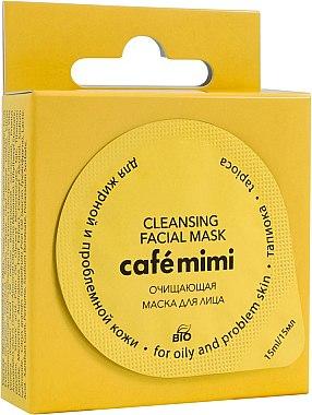 Reinigende Gesichtsmaske für fettige und unreine Haut - Cafe Mimi Cleansing Mask — Bild N1
