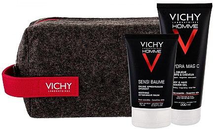 Kosmetikset - Vichy Homme (After Shave Balsam 75ml + Duschgel 200ml + Kosmetiktasche) — Bild N1