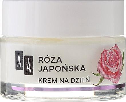 Korriegierende und glättende Nachtcreme mit japanischer Rose 60+ - AA Moc Energy Cream 60+ — Bild N2