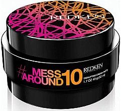 Düfte, Parfümerie und Kosmetik Haarstyling Paste - Redken Mess Around 10