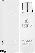 Düfte, Parfümerie und Kosmetik Pflegendes und glättendes Gesichtstonikum - Herla Black Rose Nutritive Face Smoothing Toner