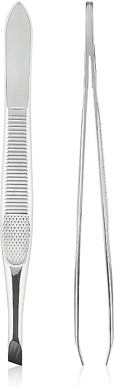 Pinzette 499374 schräg silber - Inter-Vion — Bild N1