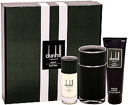 Düfte, Parfümerie und Kosmetik Alfred Dunhill Icon Racing - Duftset (Eau de Parfum 100ml + Eau de Parfum 30ml + Duschgel 90ml)