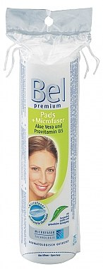 Runde Kosmetikpads mit Aloe Vera - Bel Premium Round Pads with Aloe Vera — Bild N1