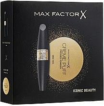Düfte, Parfümerie und Kosmetik Make-up Set (Wimperntusche 13ml+Gesichtspuder 21g) - Max Factor