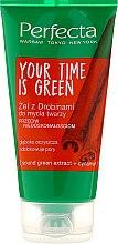 Düfte, Parfümerie und Kosmetik Gesichtsreinigungsgel - Perfecta Your Time is Green