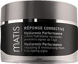 Düfte, Parfümerie und Kosmetik Anti-Aging Gesichtscreme mit Hyaluronsäure - Matis Reponse Corrective Hyaluronic Performance Cream