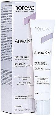 Korrigierende Anti-Falten Tagescreme - Noreva Laboratoires Alpha KM Day Cream — Bild N1