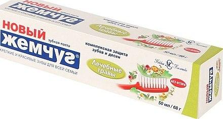 Zahnpasta mit Heilkräutern - Neue Perle — Bild N1