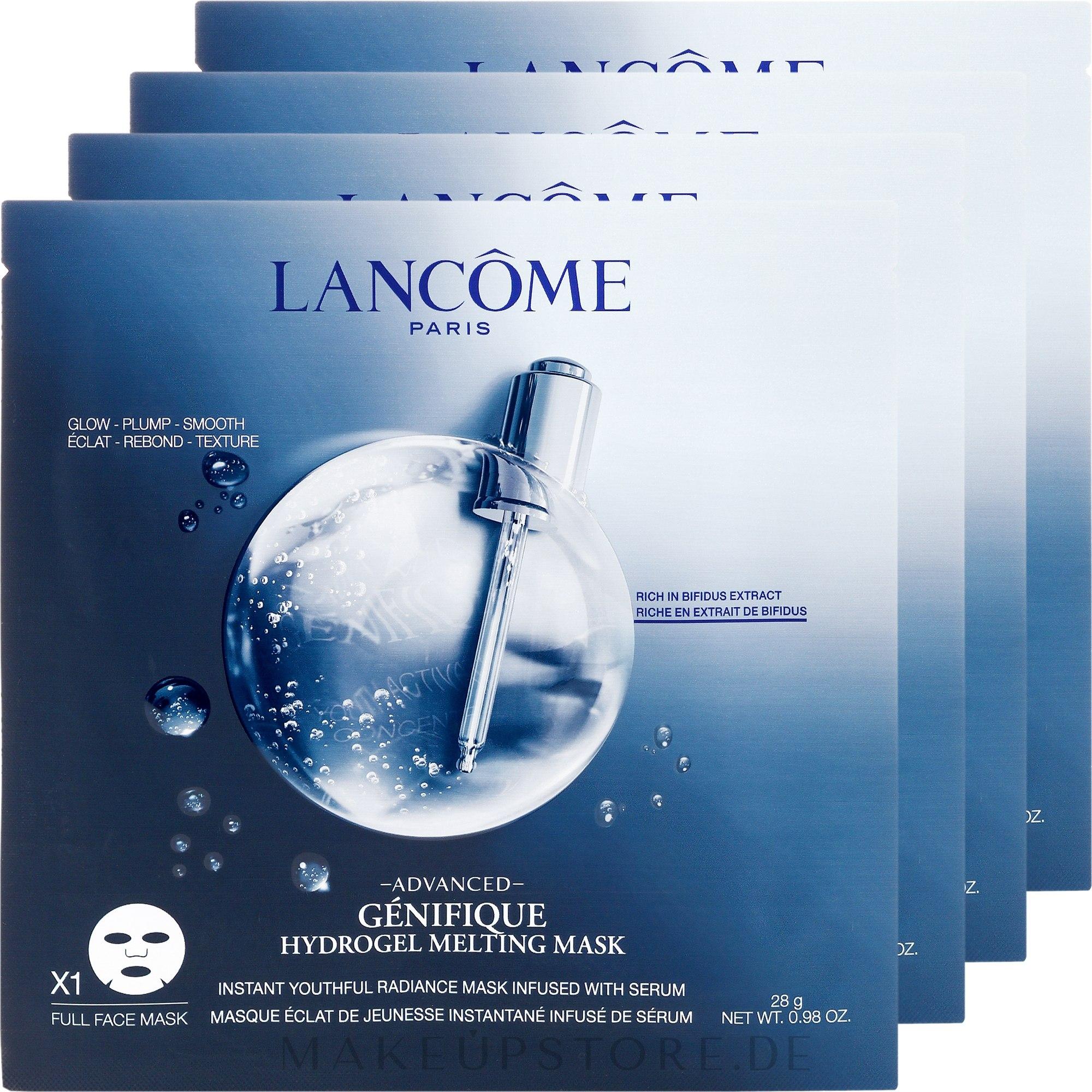 Gesichtsmaske - Lancome Genifique Hydrogel Melting Mask — Bild 4 St..