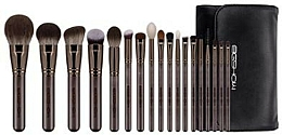 Düfte, Parfümerie und Kosmetik Make-up Pinselset - Eigshow Beauty Magician Brush Kit Lucky Coffee