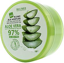 Düfte, Parfümerie und Kosmetik Beruhigendes und feuchtigkeitsspendendes Gesichts- und Körpergel mit 97% Aloe Vera - Blumei Jeju Moisture Aloe 97% Soothing Gel