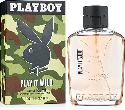 Playboy Play It Wild For Him - Eau de Toilette — Bild N1